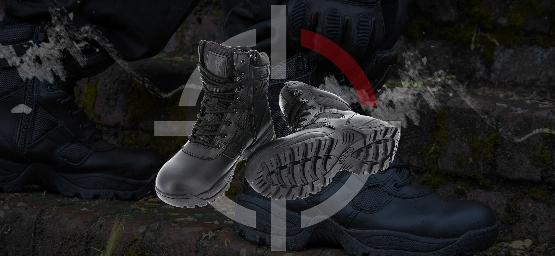 CHAUSSURES INTERVENTION GK PRO - POLICE ARMEE SECURITE